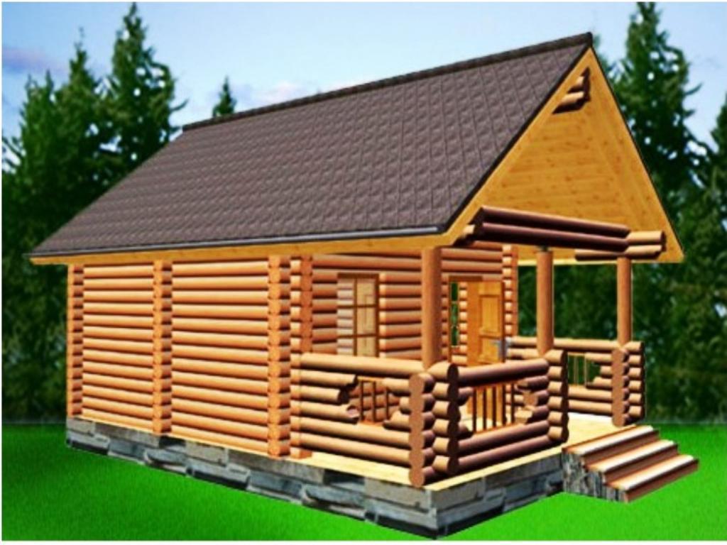 Дачные дома из бруса - проекты, цена, фото, строительство