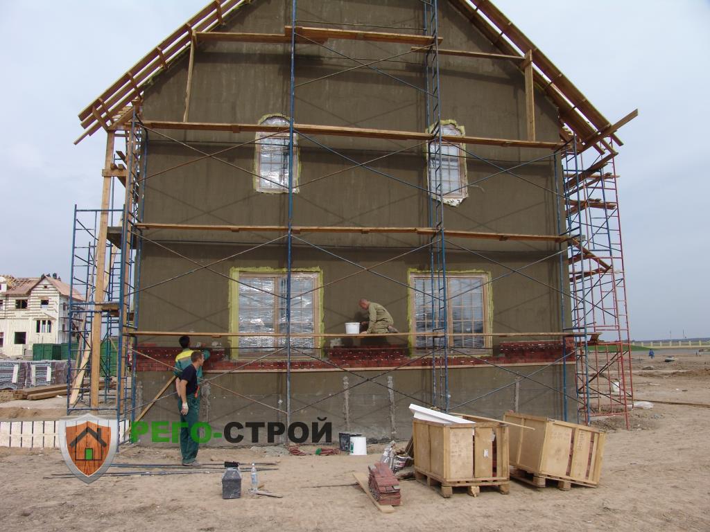 Чем сделать отделку фасада дома