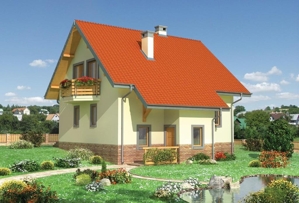 Проекты домов из пеноблоков и газобетона - Коттеджи из