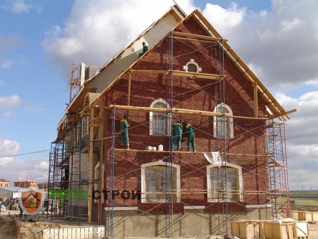 Проекты домов из кирпича, проекты кирпичных домов и